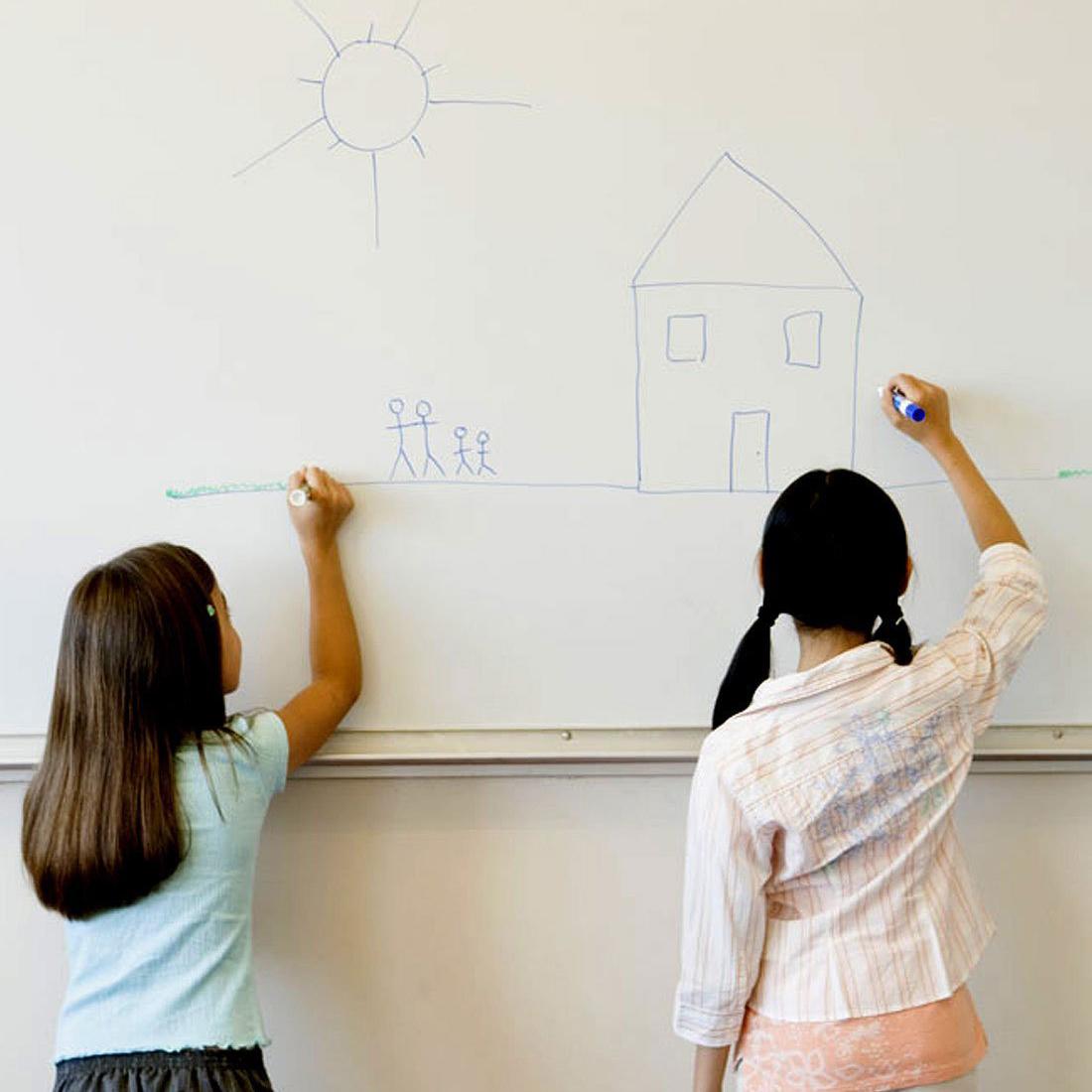 6-Foot Chalkboard or Whiteboard Wall Decal - BelleChic