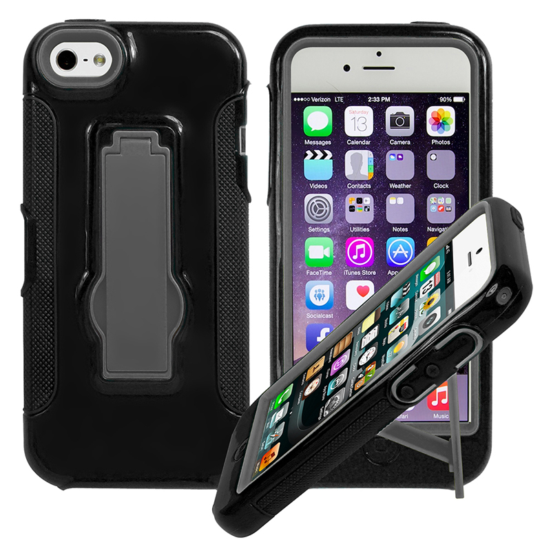iPhone 6 Plus 5.5   Rugged Kickstand Case