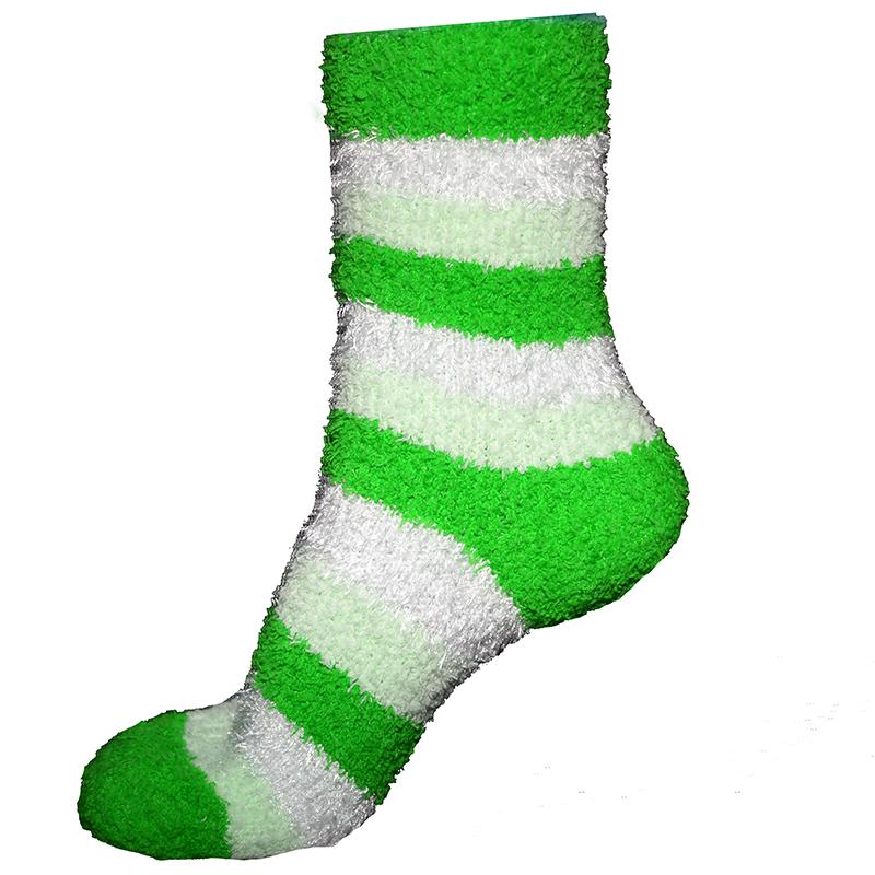 Fashion style Fuzzy cute socks photo for lady