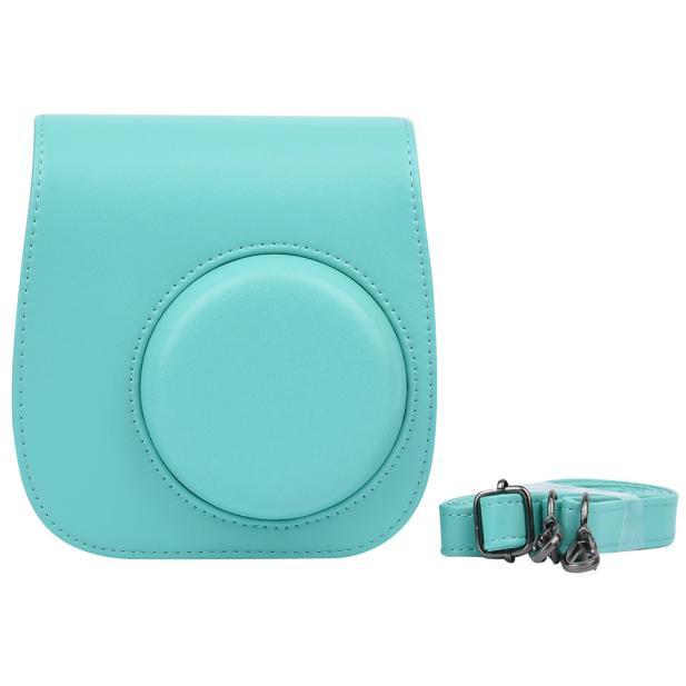 Classic Leather Camera Case Bag For FUJIFILM Instax Mini8