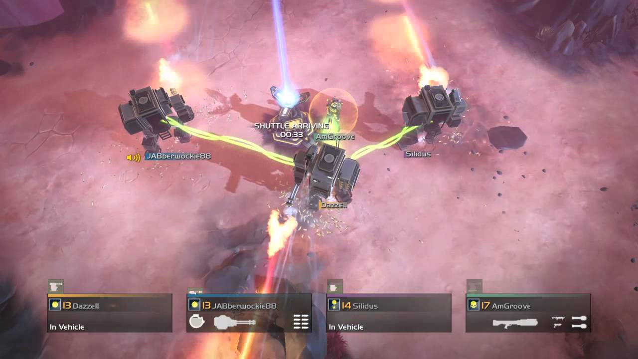 While Helldivers, like Hybrid Wars, isn't purely a mech game, the mechs in the game are meaty and thrilling to use!