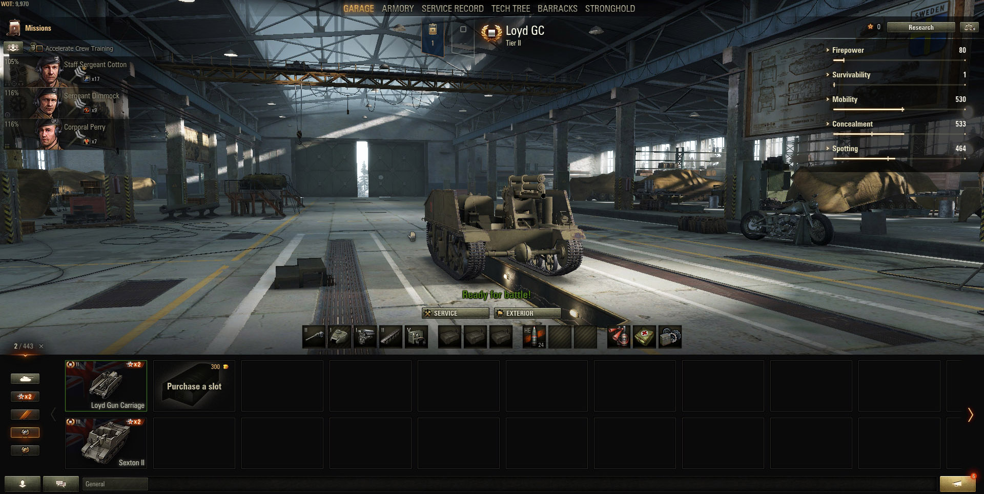 The Loyd Gun Carriage's chassis is extremely similar to that of the Renault FT.