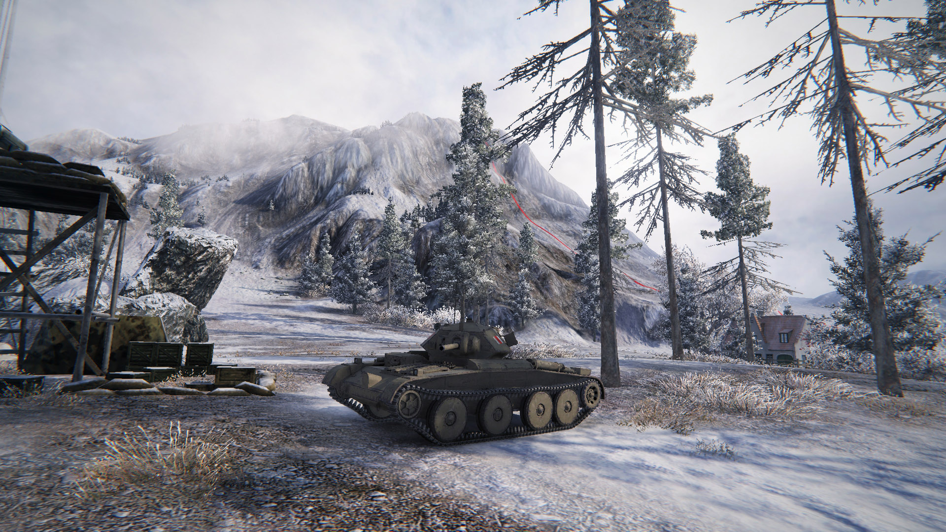 The Covenanter is a Tier 4 British tank that excels at flanking with its vast array of weaponry.