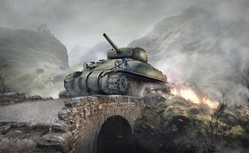 The M4 Sherman, one of the Allies' greatest tank successes.