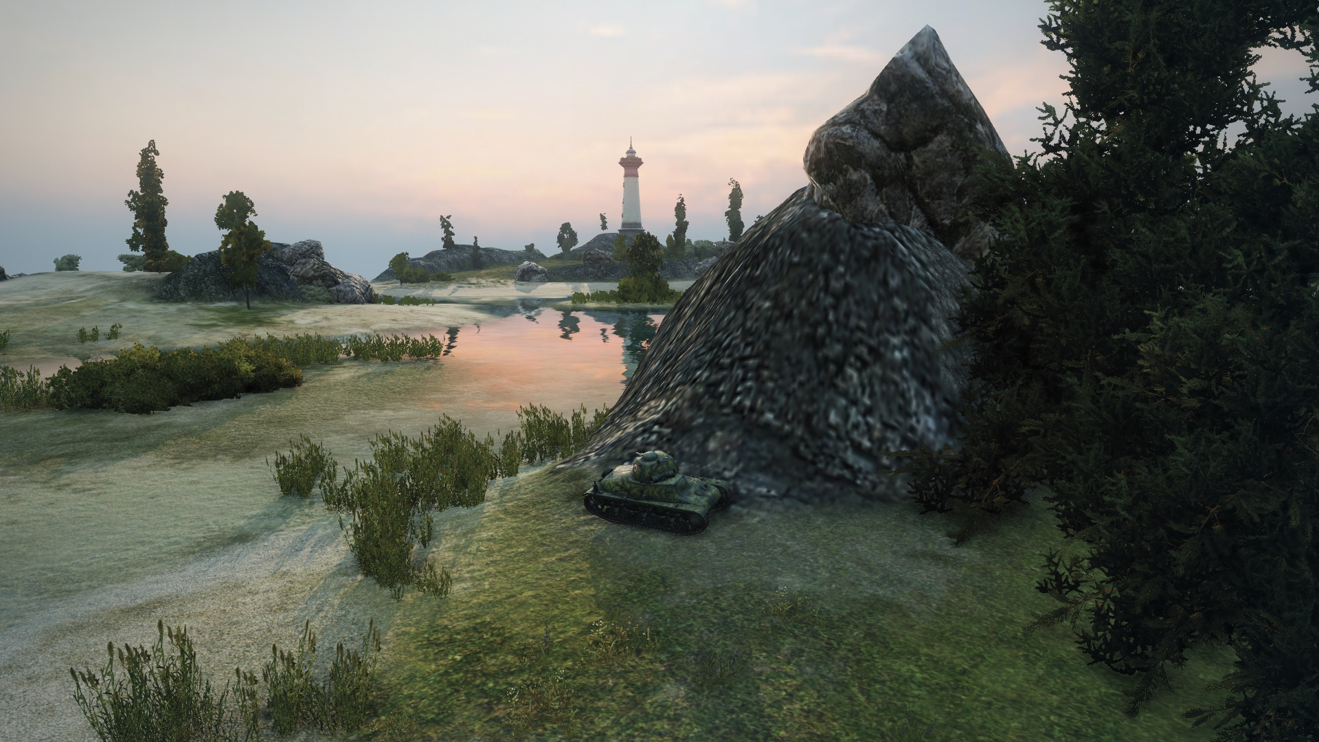 Tank battlegrounds mines map strategy tank war room world of there are two islands on the west side of the mines map the main island features a large lighthouse and plenty of rocks to take cover behind gumiabroncs Image collections