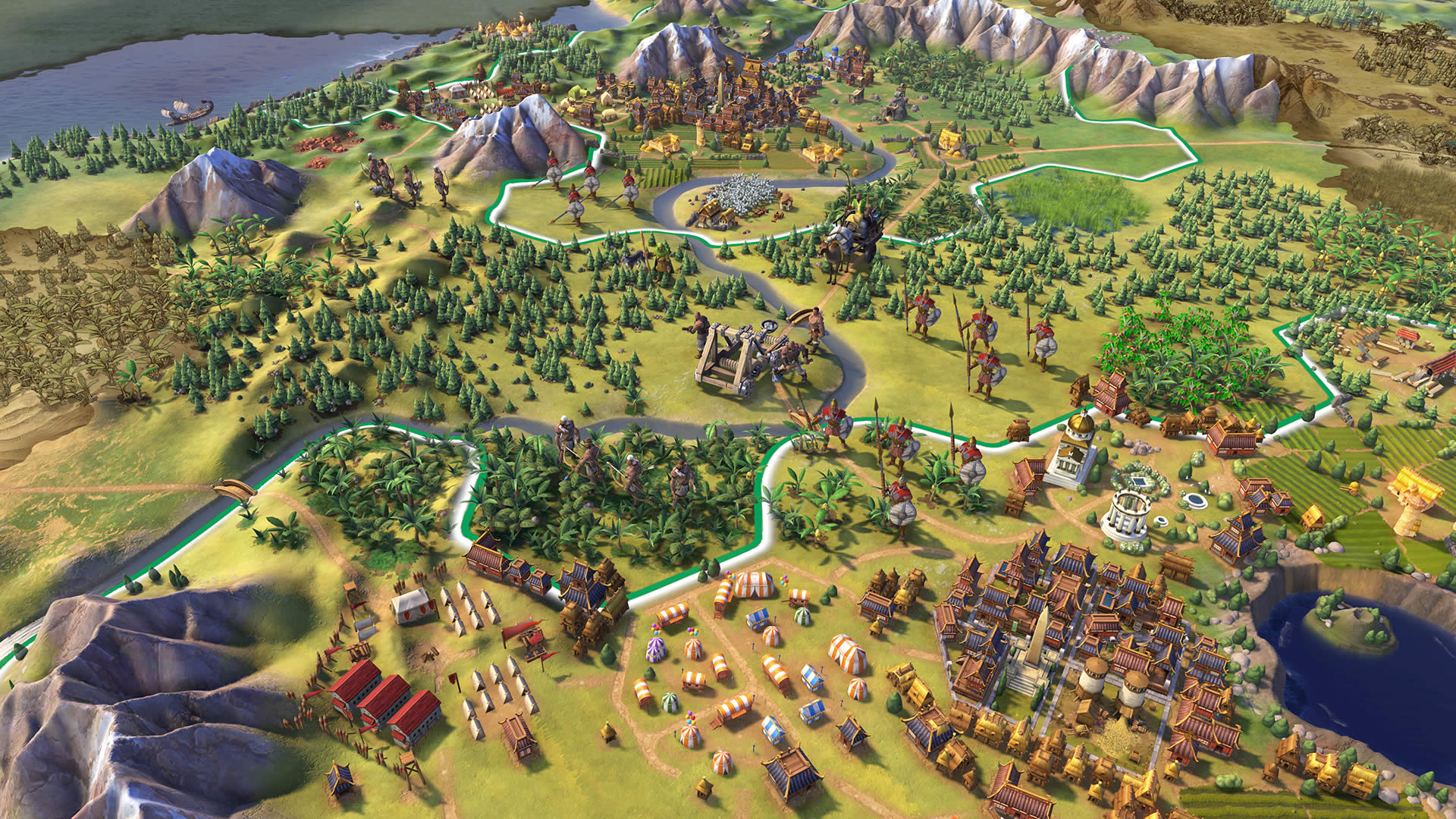 Players with a wide variety of interests will enjoy Civilization VI, but in-depth mechanics will appeal to World of Tanks players.
