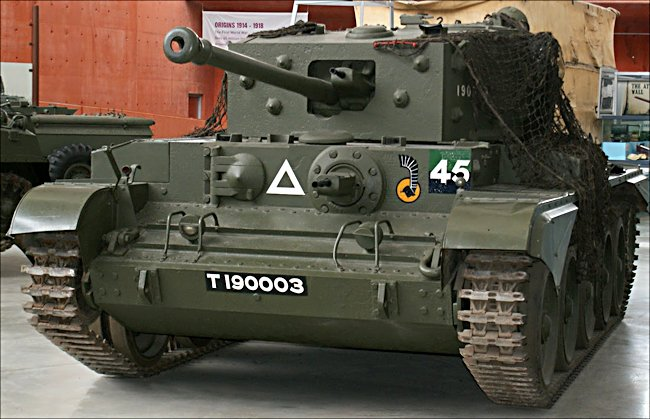 Thank you to Tank-Hunter.com for the above image of the Cromwell.