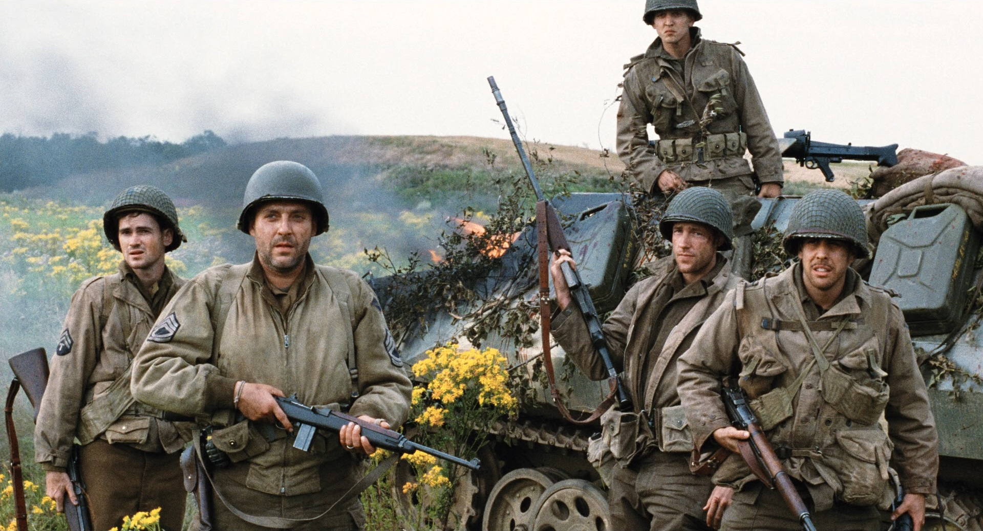 saving private ryan The movie saving pvt ryan hits you with shocking realism from the  it was a  fascinating work of art—sometimes horrific, but entirely accurate the genesis of.