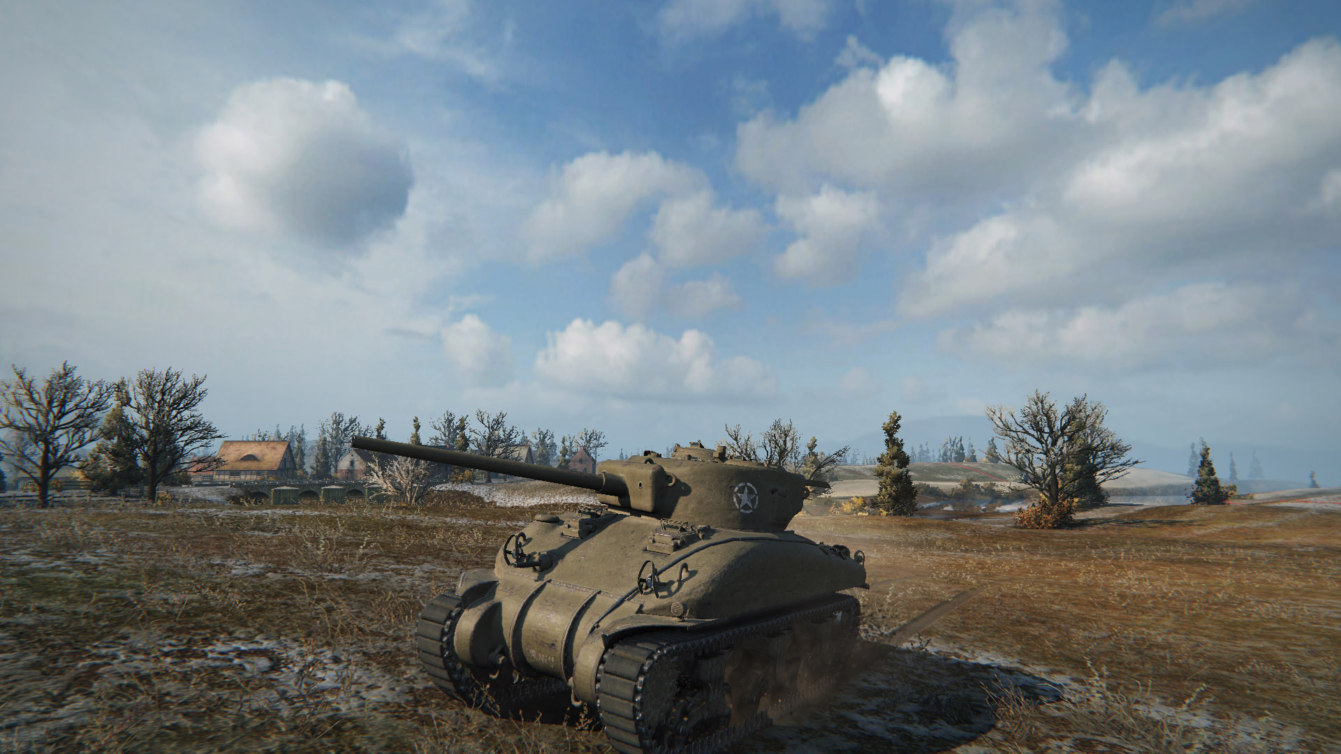 The M4 Sherman saw its first battle in Second Battle of El Alamein.