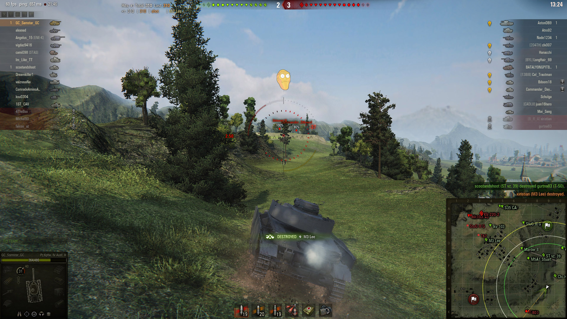 The XVM Mod allows you to change some of the visuals in World of Tanks, such as the Sixth Sense perk.