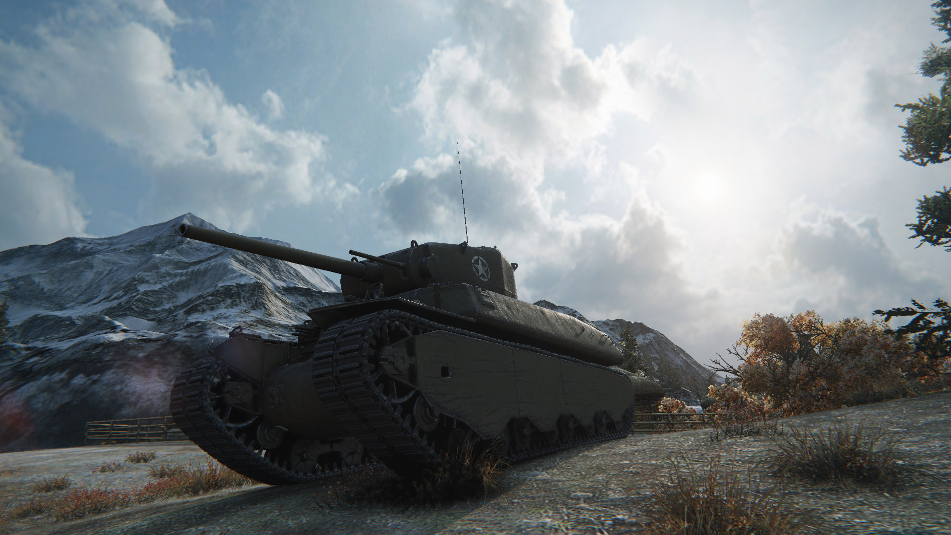 Take advantage of the tough turret and high rate-of-fire to bully your enemies in the T1 Heavy.