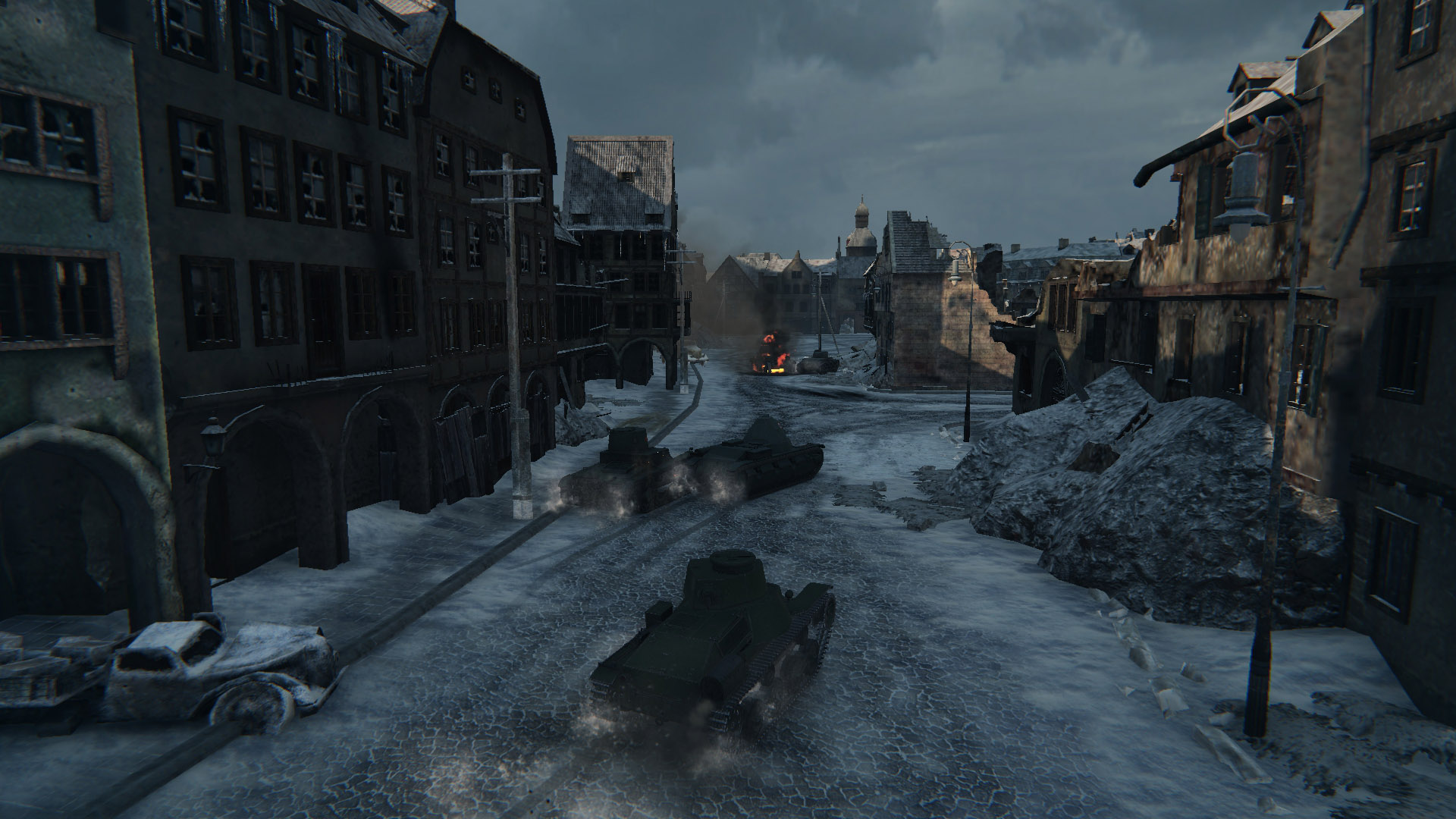 What the Type 95 Ha-Go lacks in armor it makes up for in speed.