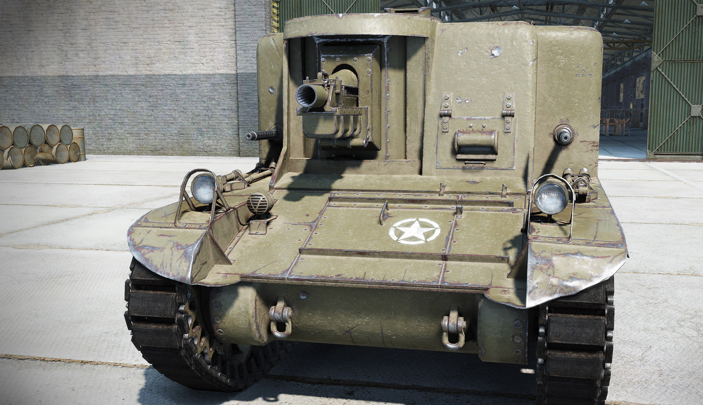 While this is an image of the T18 HMC, it's the closest thing you can get to seeing what the fabled T18 used to look like. We would love to see the T18 one more time in World of Tanks.