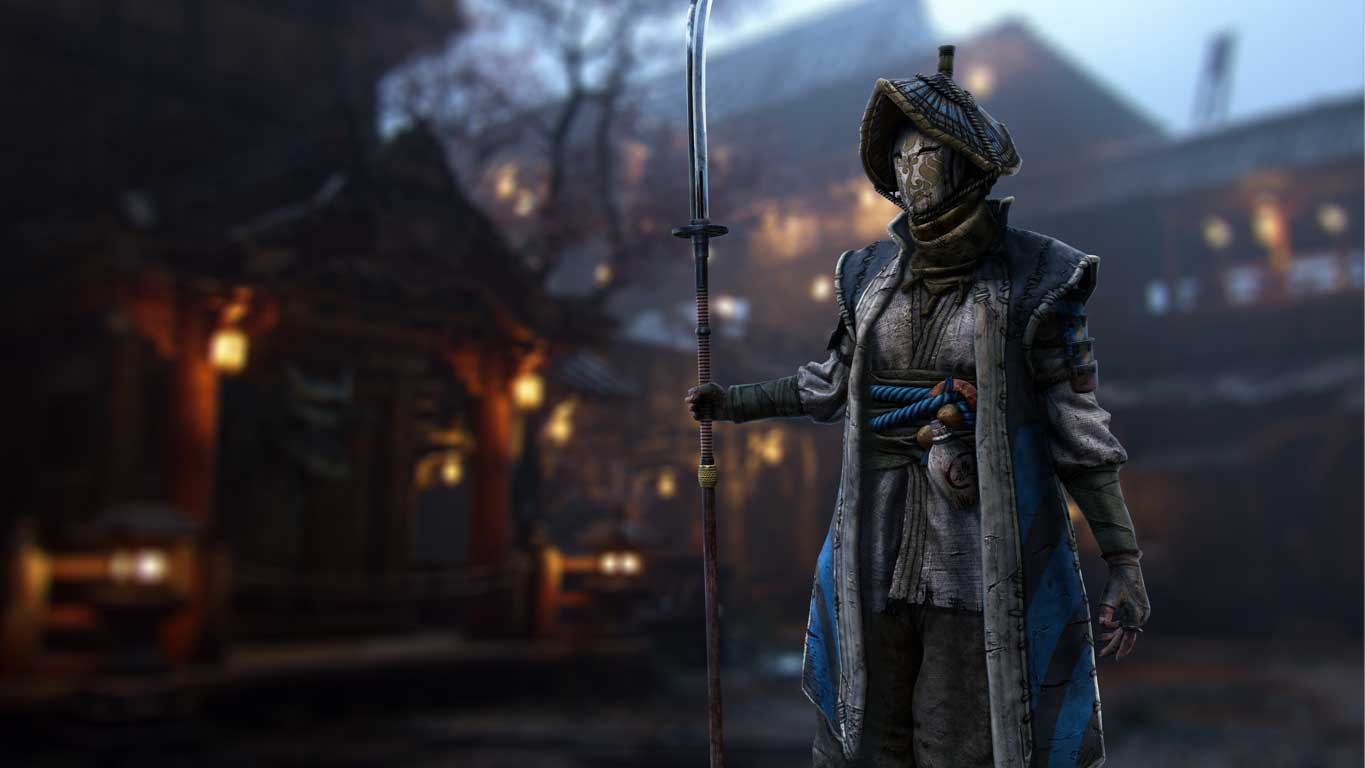 With a long range polearm and bleed attacks, the Nobushi is one of the best characters in For Honor.