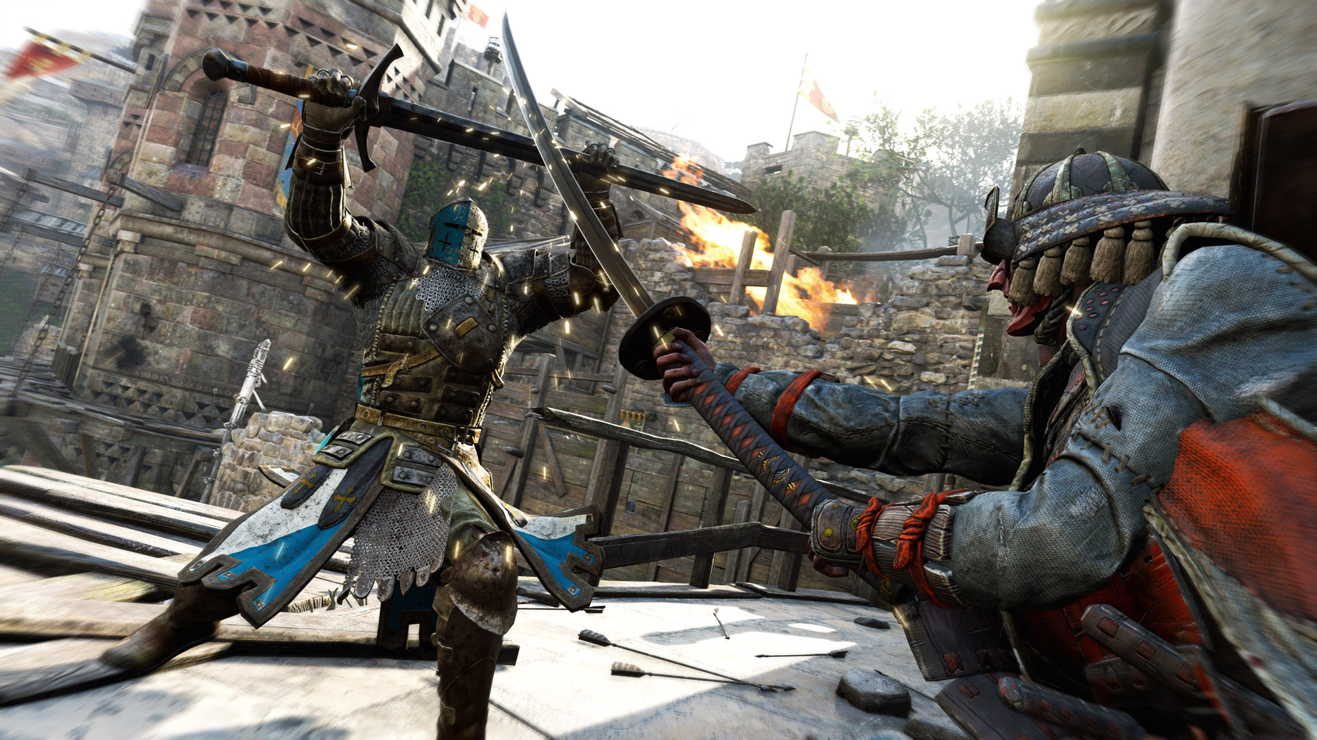 One of the best characters in For Honor is the Warden, thanks to its accessibility and sheer strength. With a lot of health and heavy attacks, the Warden is ideal in 1v1 situations.