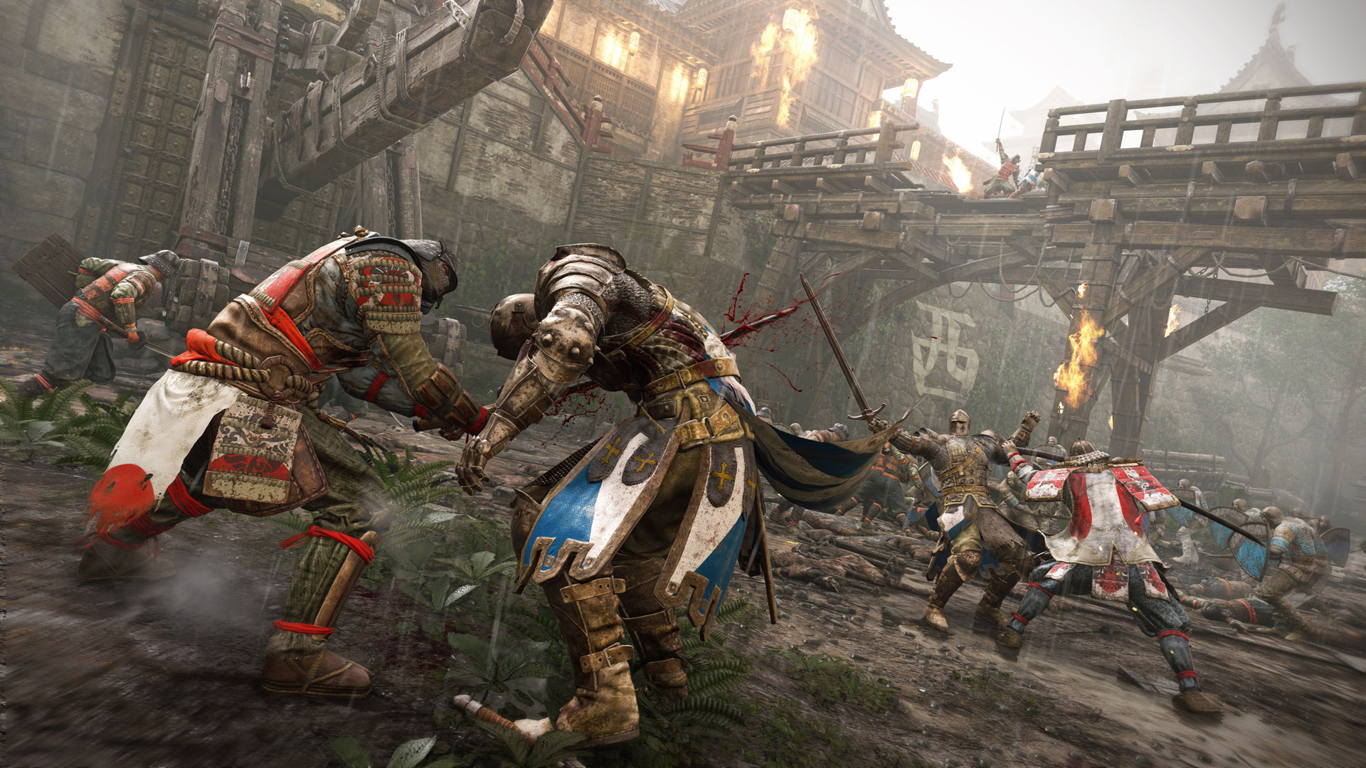 When you manage to counter a Guard Break in For Honor, be sure to seize the opportunity and land in a few attacks while they recover.