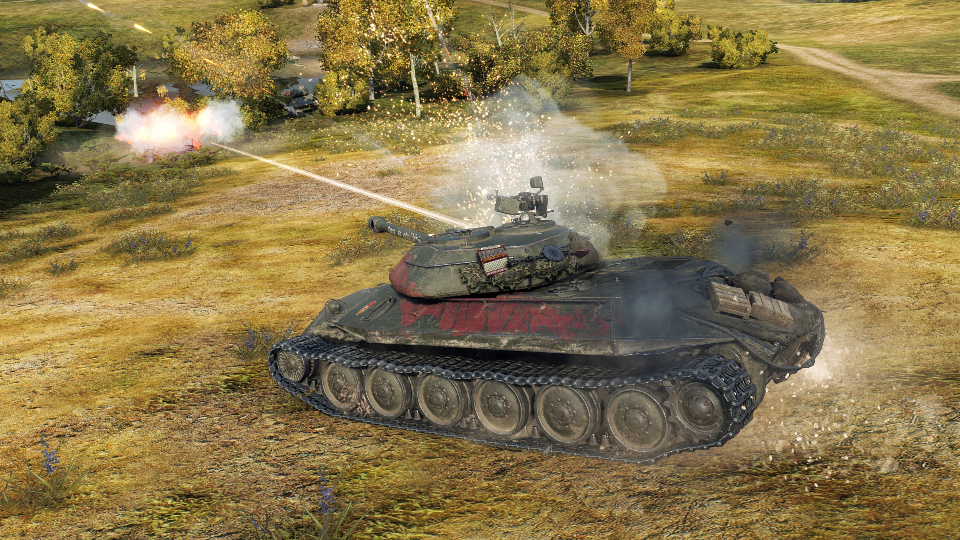 what is signal range in world of tanks