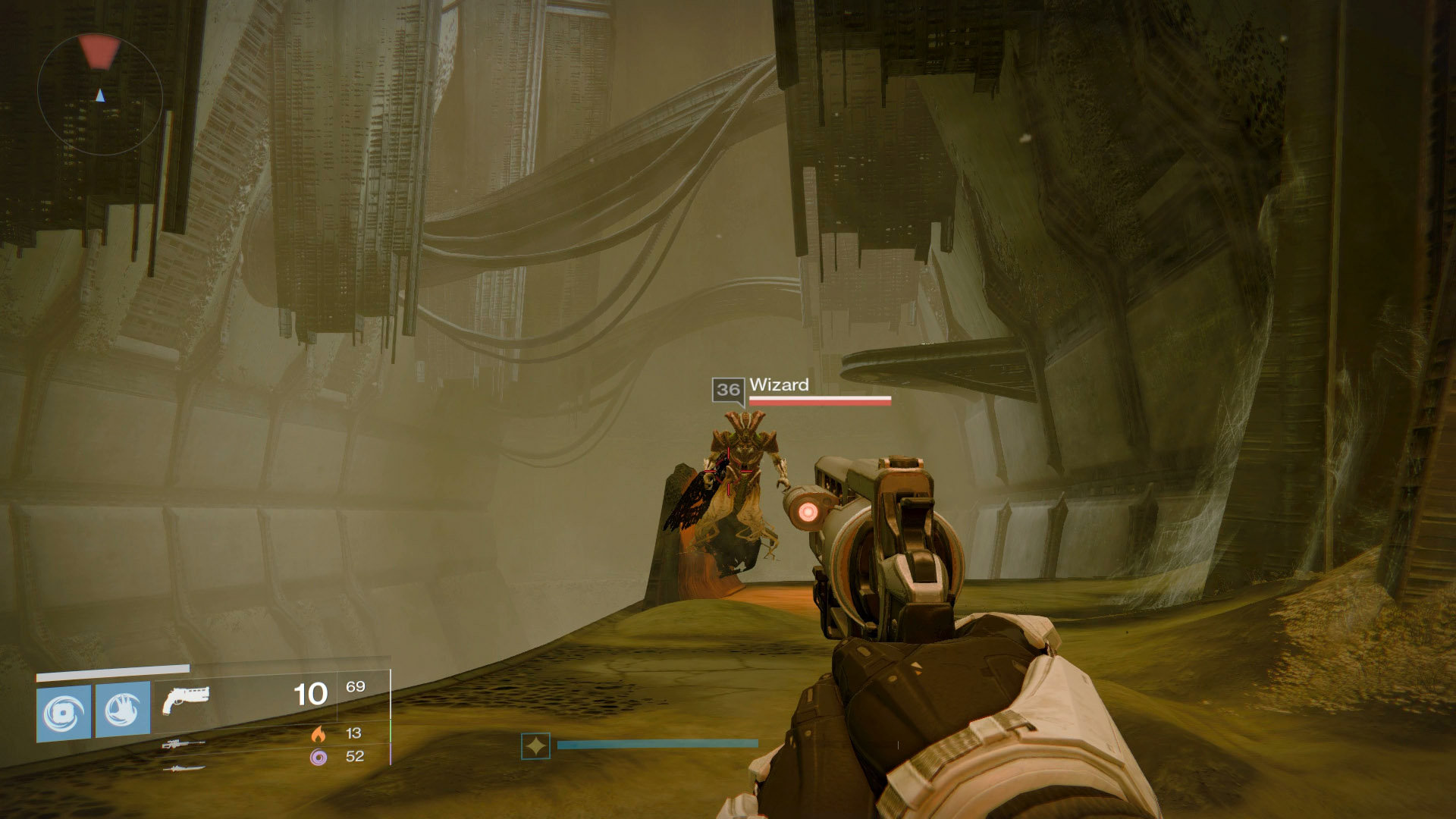 You can farm Wizards around the Court of Oryx while Patrolling the Dreadnaught.