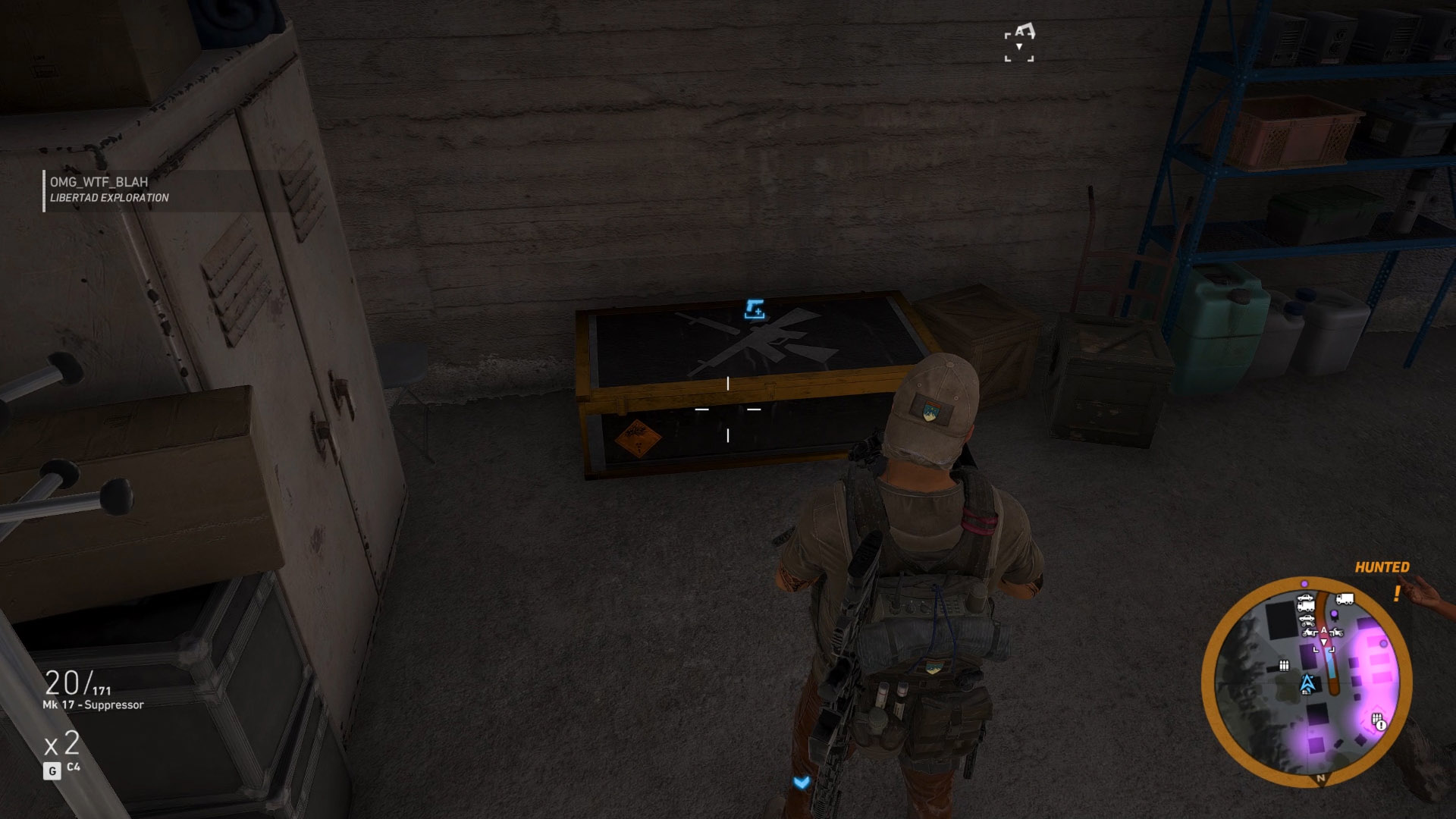 After flying in or fighting in from the east, enter the Armory and open the weapon crate to get the D-50 Desert Eagle, Ghost Recon Wildlands' best pistol.