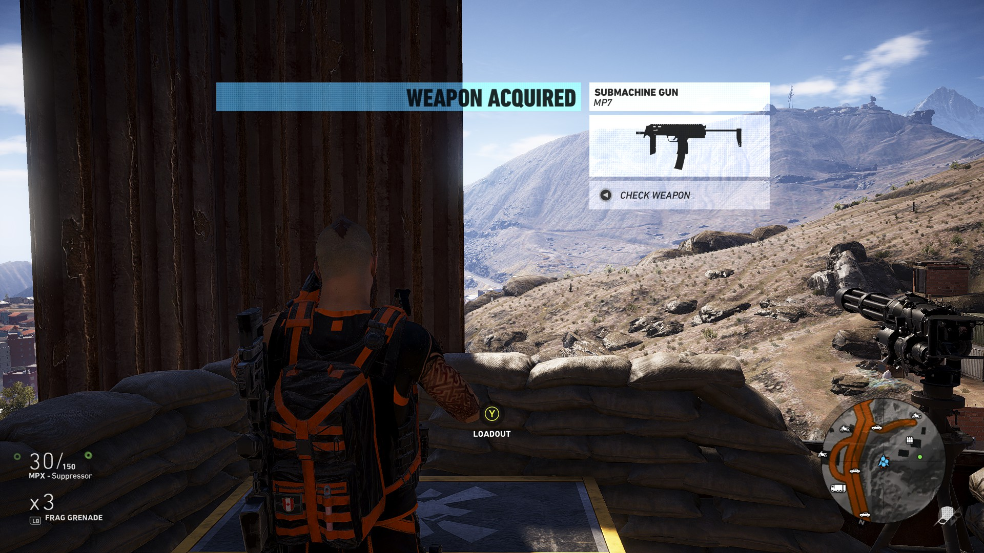 The MP7 isn't the best Submachine Gun in Ghost Recon Wildlands, but it's a lot of fun
