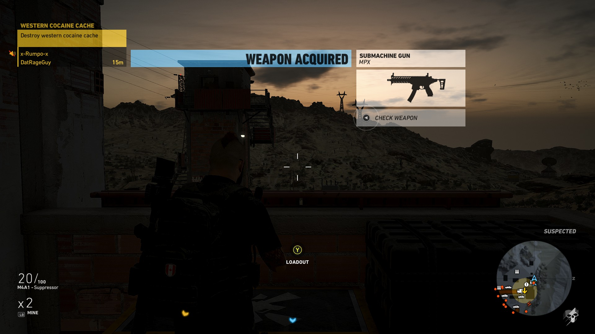 The MPX Submachine Gun in Ghost Recon Wildlands is great for up close encounters.