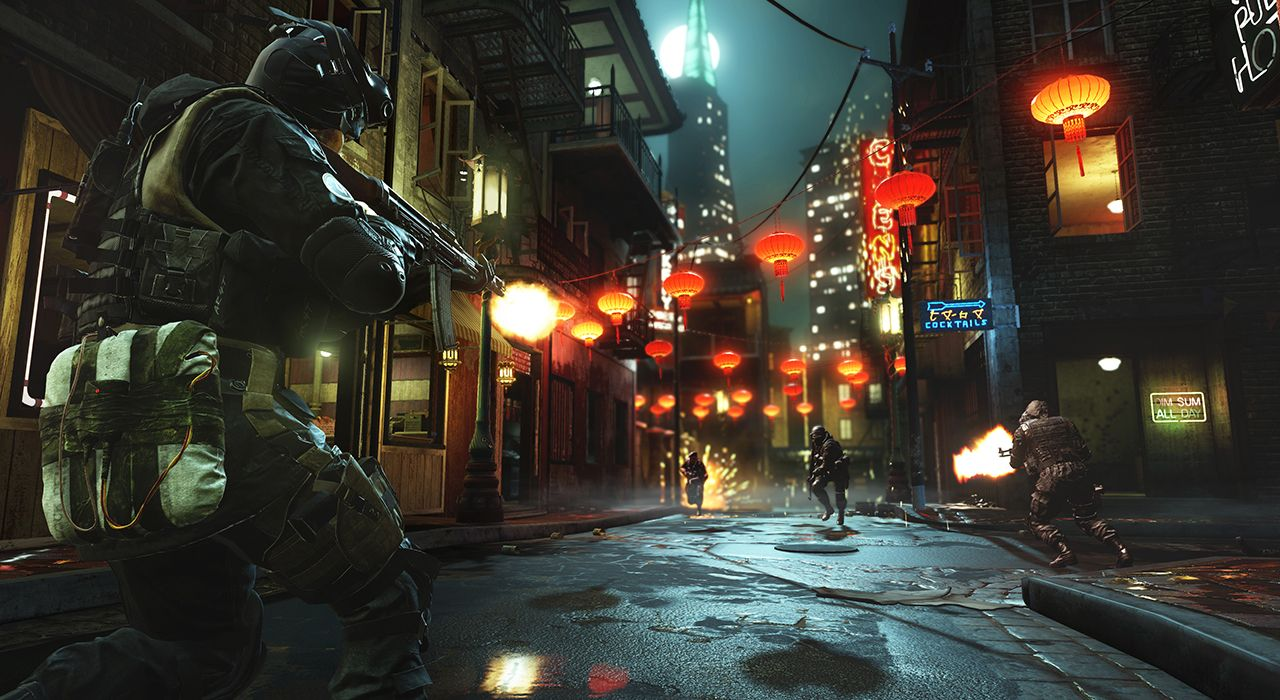 Chinatown will be one of the pack's new maps.