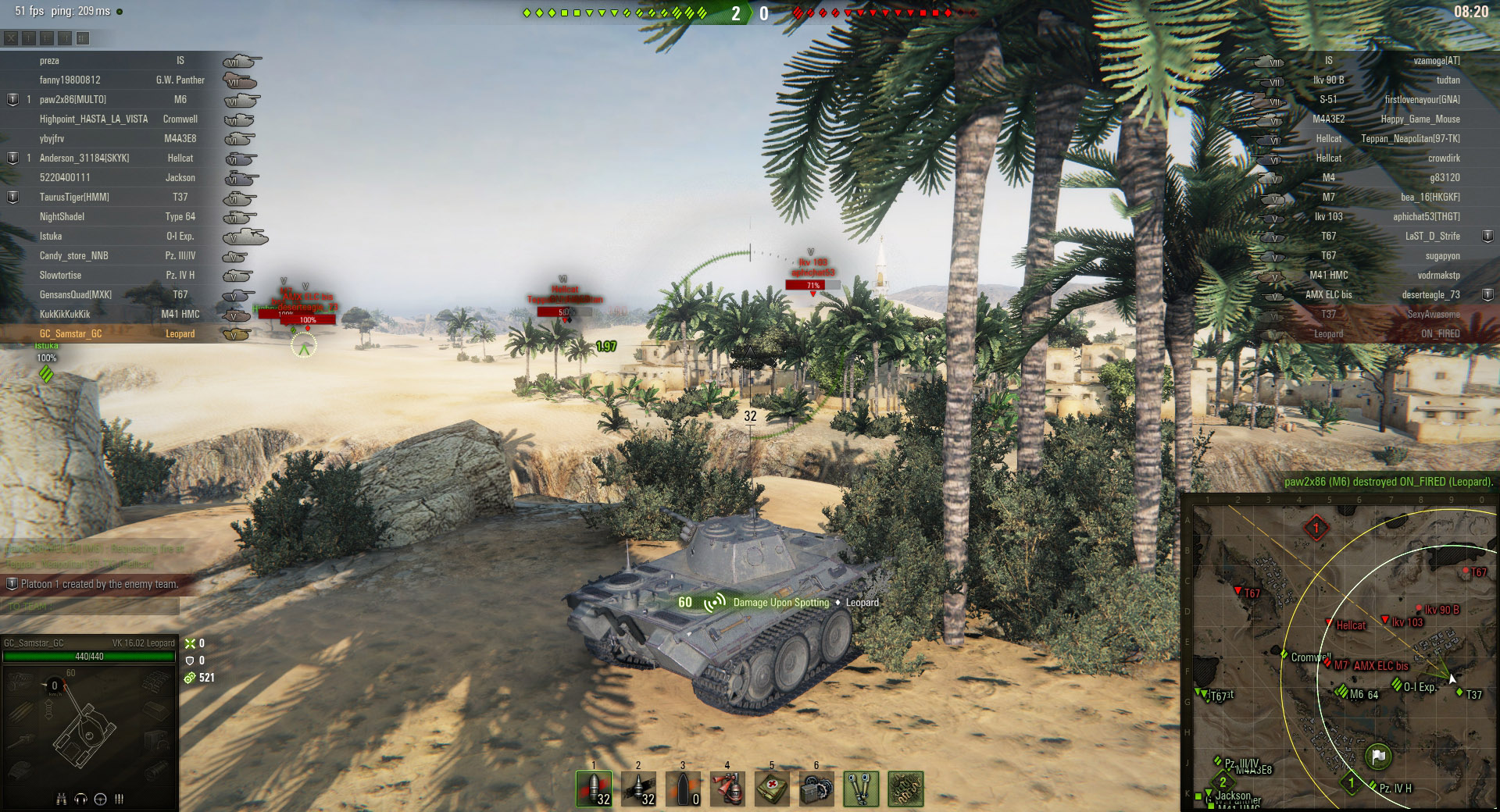 All forms of scouting can be rewarding for a Light tank player.