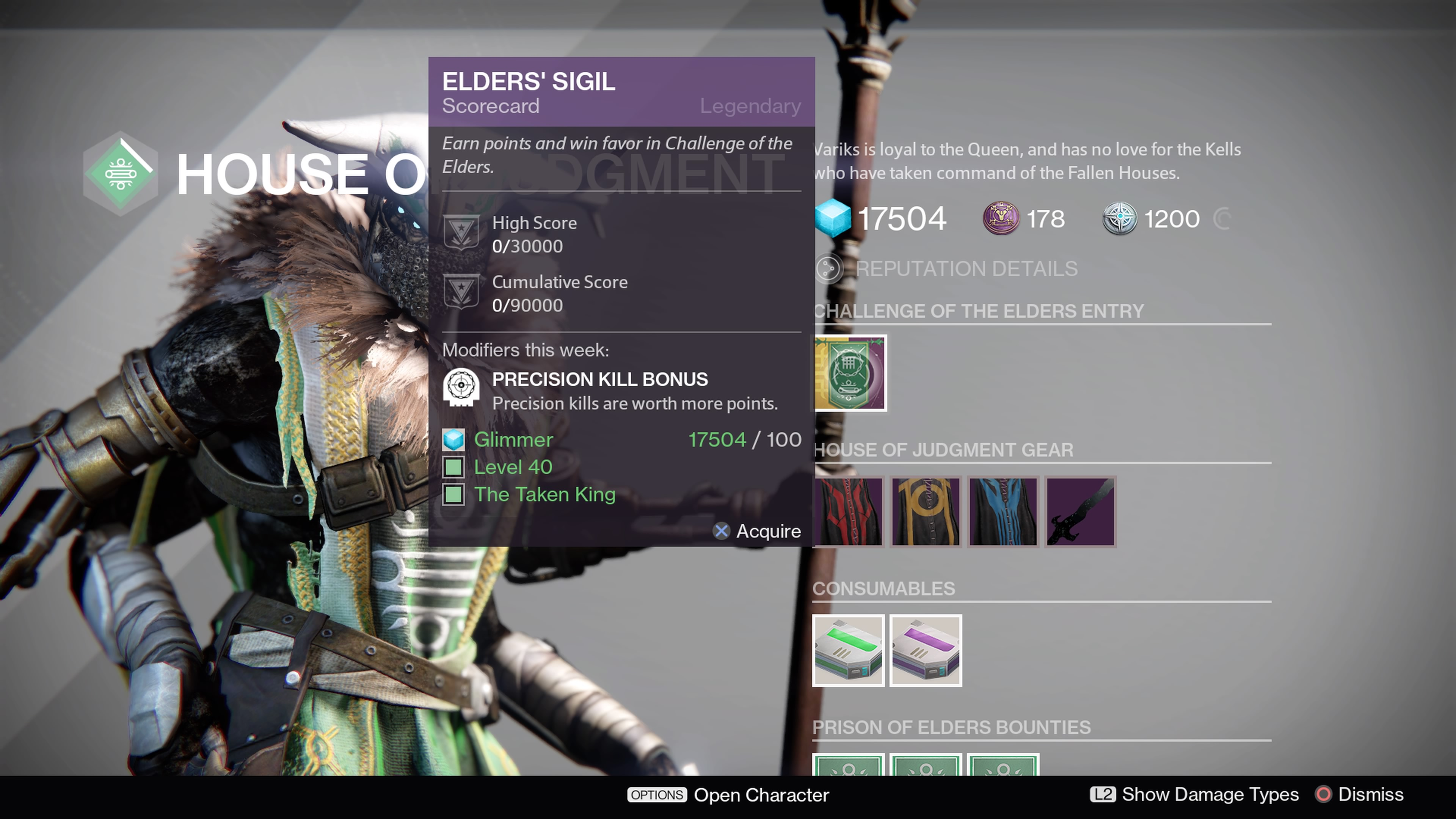 Grab the Elders' Sigil and complete the the Challenge of Elders