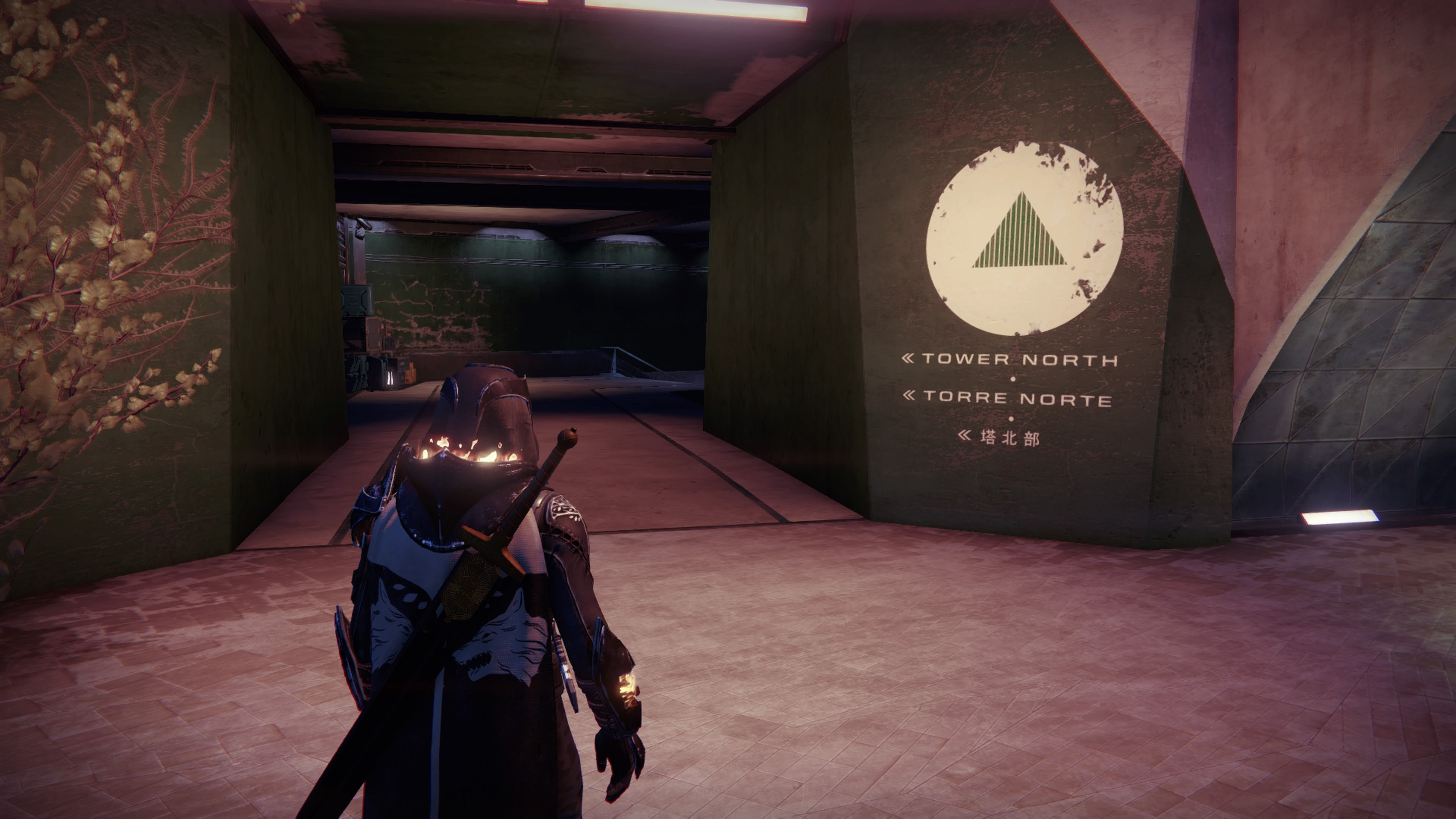 The Speaker is located in Tower North, which your probably already knew.