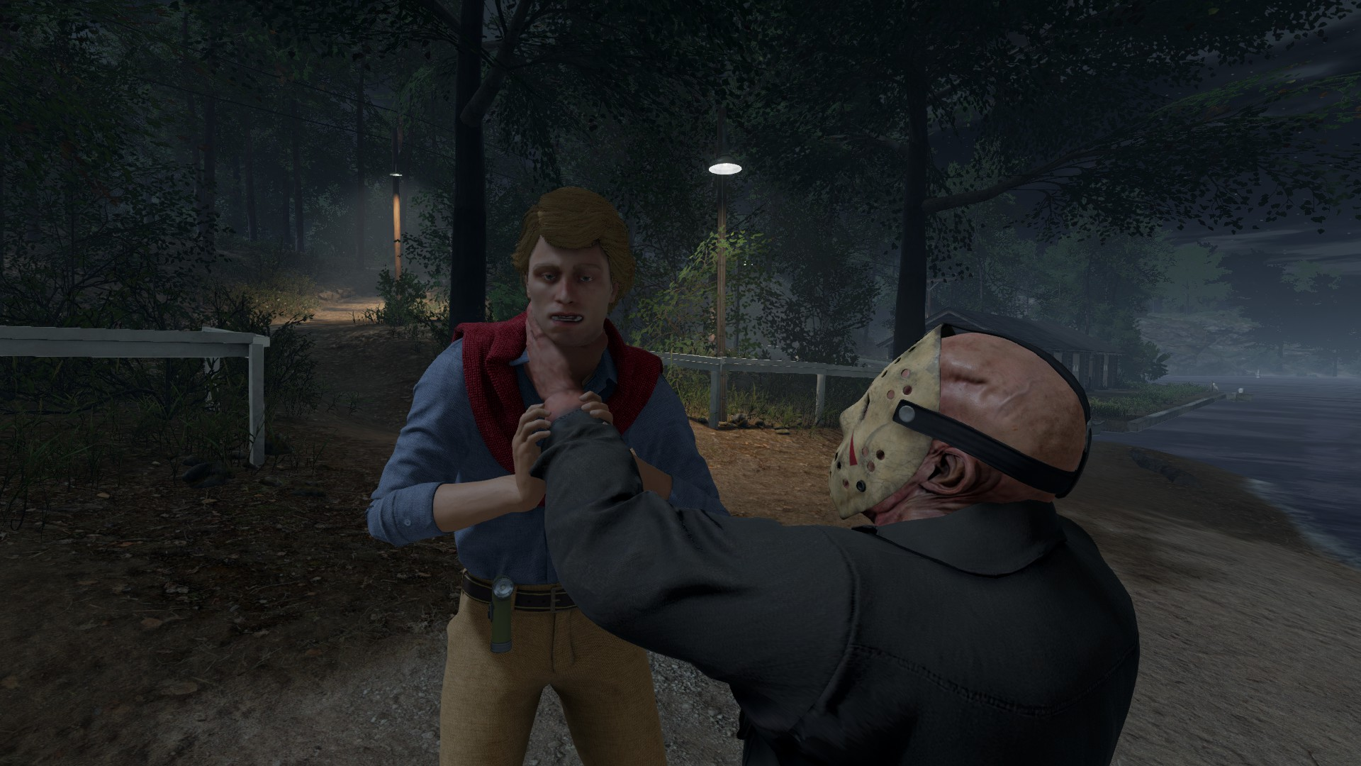 Jason's Grip Ability lets him hold onto Counselors. If Jason's stats include a Grip Strength, your prey won't be able to wriggle free easily!