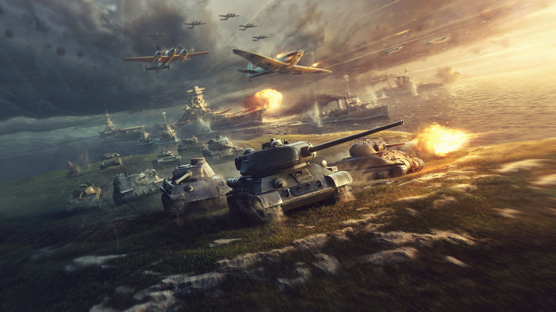Players in World of Tanks and in World of Warships will be able to partake in Project V.A.L.O.R.