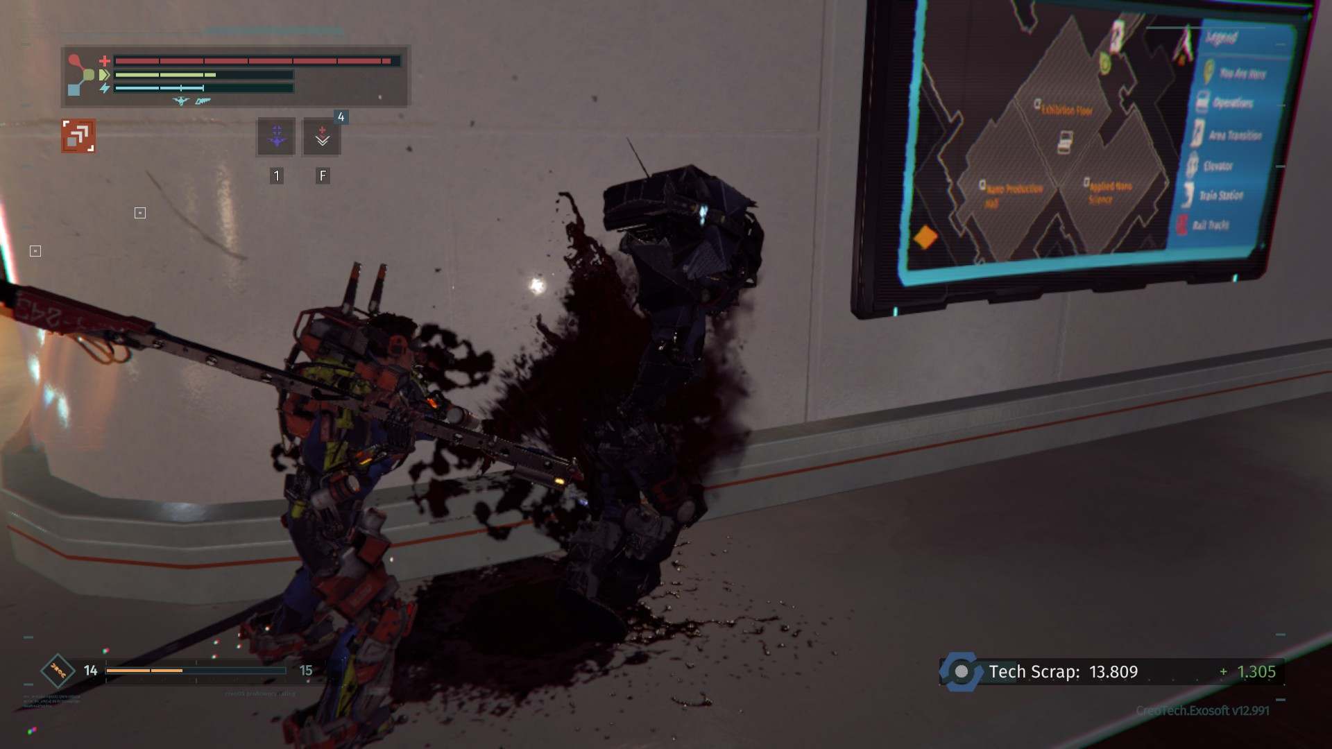 Much like farming for components, collecting Schematics requires you to cut off enemy limbs in The Surge.