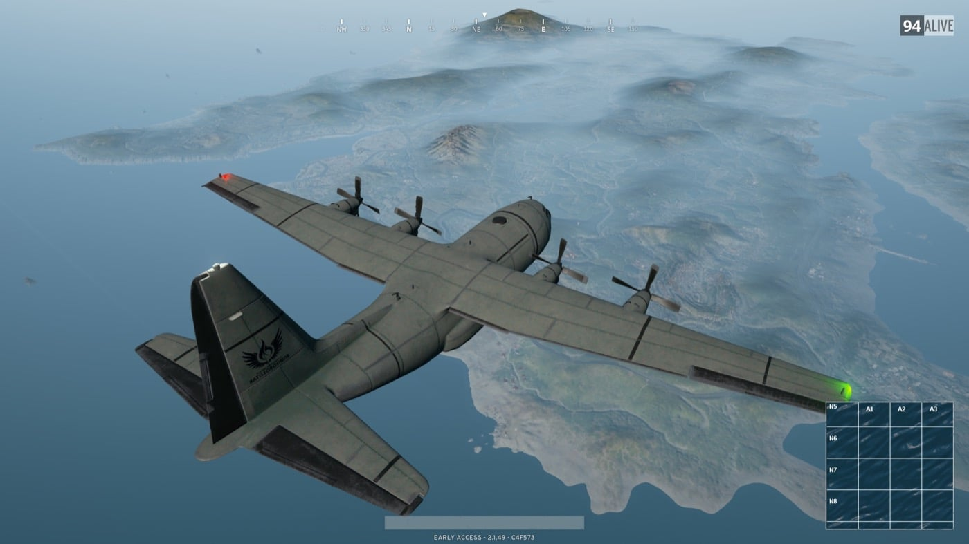 A recent update fixed a few problems players were experiencing with the starting plane.