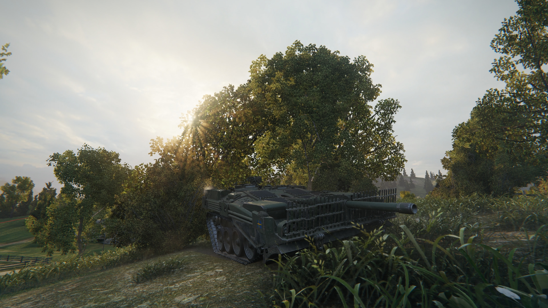 The deadliest sniping Tank in the game.