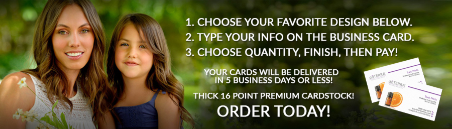 buy doterra business cards