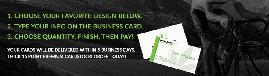 20 amazing herbalife business cards delivered in 5 business days buy herbalife business cards reheart Images
