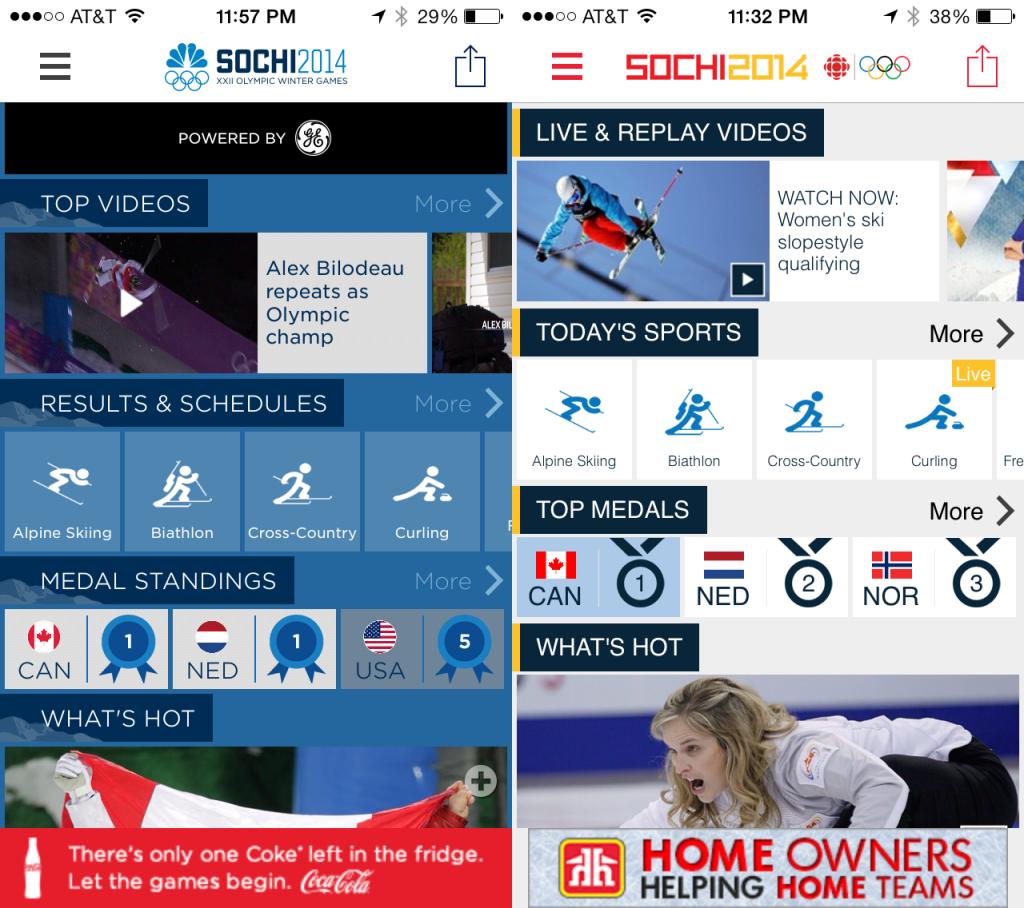 CBC-NBC Official Apps
