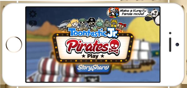 Toontastic Jr. Launch Screen