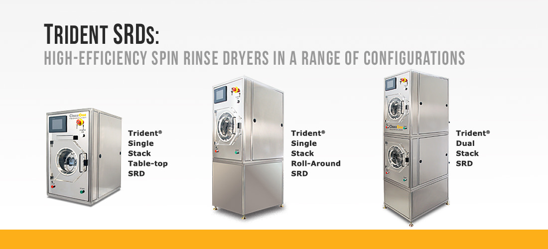 Trident SRDs - Spin Rinse Dryers