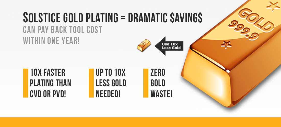Solstice Gold Plating