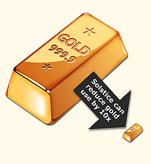 Gold Use Reduction
