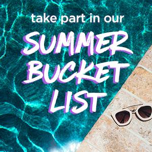 summer bucket list >