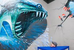 متحف فن 3D في الفلبين يسمح لك أن تصبح جزءا من فنهم