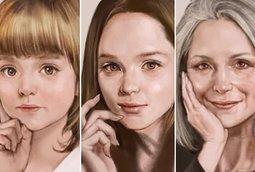 فيديو: فنان يجسد مراحل العمر في رسمة فوتوشوب