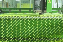 فيديو فني يوضح عملية صناعة كرات التنس