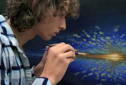 فنان هولندي يقضي عامين ونصف في إنتاج عمل فني مذهل في فيديو فاصل زمني