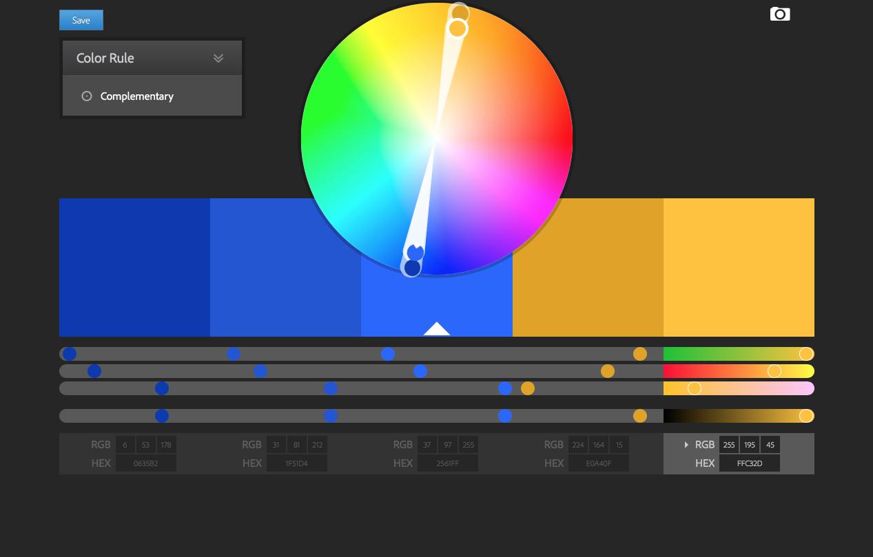 تعلم كيفية اختيار ألوان للعلامة التجارية