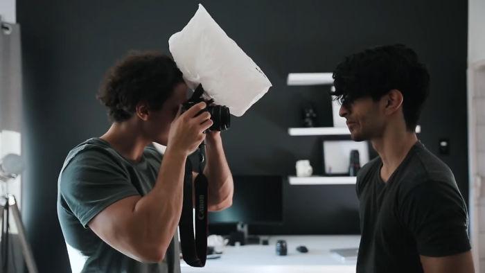 خدع تصوير احترافية باستخدام ادوات بسيطة