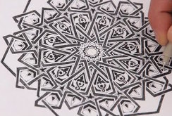 التعقيد في علوم الهندسة بالفن الاسلامي