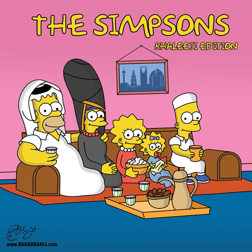 تخيل اشكال الشخصيات الكرتونية المشهورة اذا كانو عرب